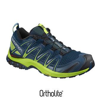 Zapatillas trail hombre XA PRO 3D poseidon/lime green/black