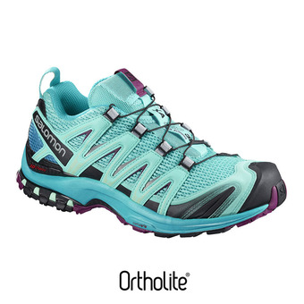 Chaussures trail femme XA PRO 3D blue curac/blue bird/dark purple