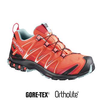 Zapatillas trail mujer XA PRO 3D GTX® nastur/black/canal blue