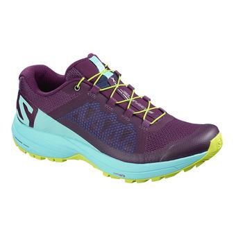 Zapatillas de trail mujer XA ELEVATE dark purple/blue curacao