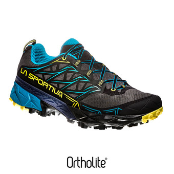 Chaussures trail homme AKYRA carbon/tropic blue