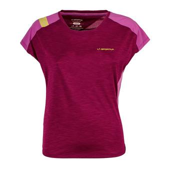 Camiseta mujer TX COMBO EVO plum/purple