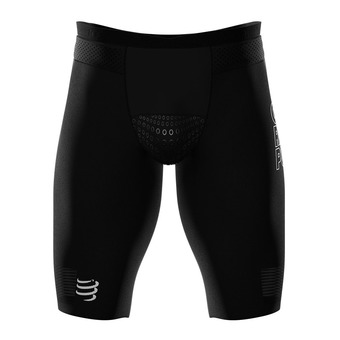 Cuissard de compression homme TRIATHLON UNDER CONTROL noir