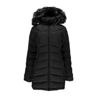 Anorak mujer SYRROUND LONG FAUX FUR DOWN black