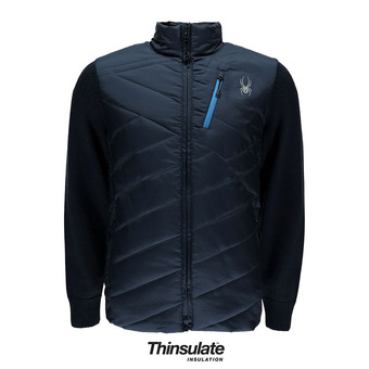 Anorak hombre OUZO HYBRID fro/french blue