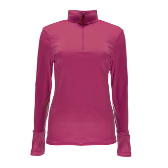 Maillot ML 1/4 zip femme TURBO raspberry