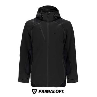Chaqueta de esquí Primaloft® hombre HOKKAIDO black
