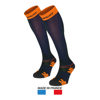 Chaussettes de compression XLR EVO bleu/orange