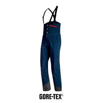 Pantalon de ski à bretelles homme ALVIER HS GTX® marine