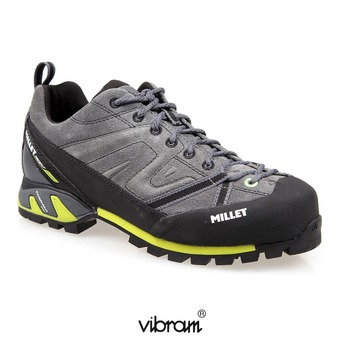 Chaussures randonnée homme TRIDENT GUIDE anthracite/acid green