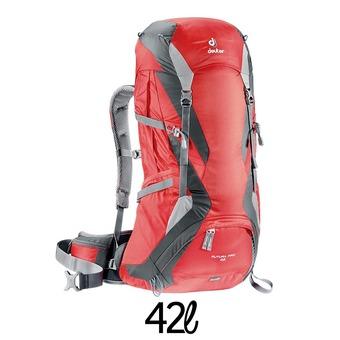 Mochila 42L FUTURA PRO rojo/granito