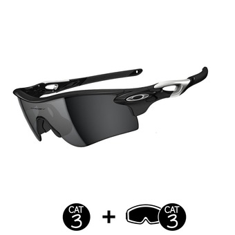 Gafas de sol RADARLOCK™ PATH™ polished black/black iridium®/VR28®