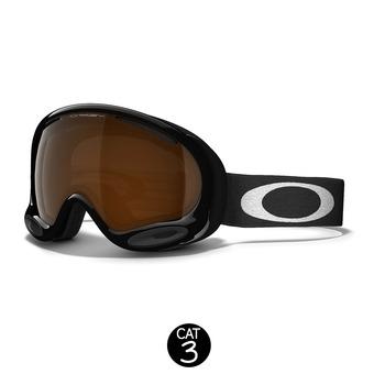 Masque A FRAME 2.0 jet black - écran black iridium