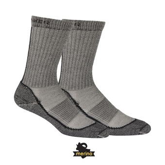 Chaussettes homme HIKE BASIC LIGHT CREW oil/silver/black