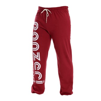 Pantalón de chándal UNI H burdeos/blanco