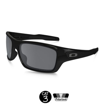 Lunettes polarisées TURBINE™ polished black/black iridium®
