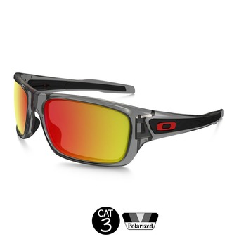 Gafas de sol polarizadas TURBINE™ grey ink/ruby iridium®