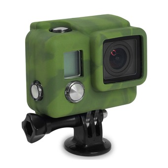 Housse silicone COVER HERO 3+ camouflage