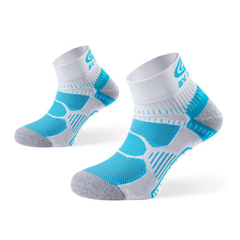 Calcetines RUNNING azul/blanco/gris