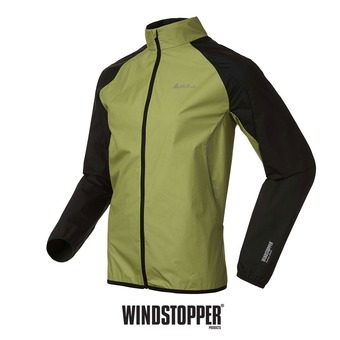 Veste coupe-vent homme INCURIA macaw green/black