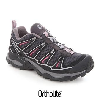 Chaussures randonnée femme X-ULTRA 2 asphalt/black/hot pink