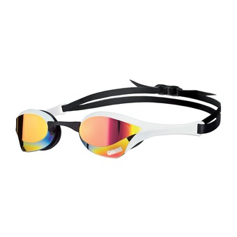 Lunettes de natation COBRA ULTRA MIRROR red revo/white/black