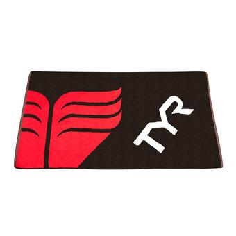 Serviette TYR black/red