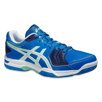 Zapatillas balonmano mujer GEL SQUAD electric blue/white/navy