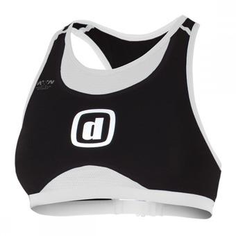 Sujetador deportivo trifunción iBRA black/white
