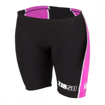 Cuissard trifonction femme iSHORTS black/pink