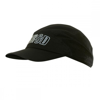 Casquette RUNNING black series black/white