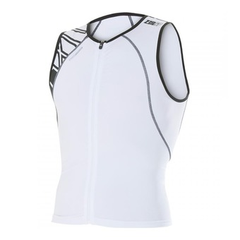 Camiseta uSINGLET armada white