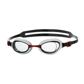 Gafas de natación hombre AQUAPURE red/smoke