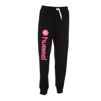 Pantalón de chándal UH 2 negro/rosa flúor