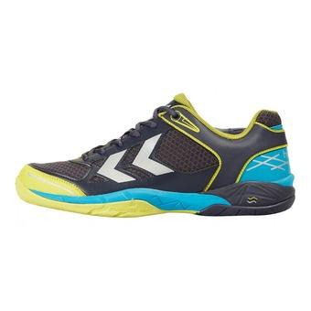 Chaussures handball homme OMNICOURT Z4 graphite/sulphur spring/blue grotte