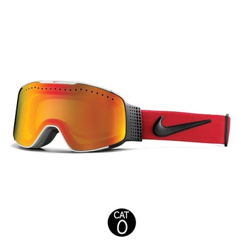 Gafas de esquí FADE white/university red/black - yellow red ionnized