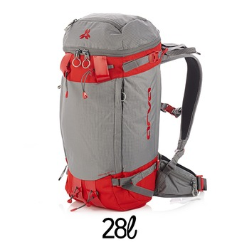 Mochila FREERANDO 28L grey/red