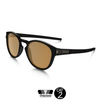 Gafas de sol polarizadas LATCH matte black/bronze