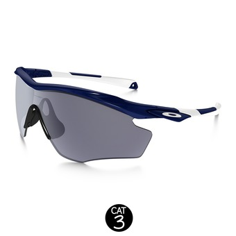 Lunettes M2 FRAME XL polished navy/grey