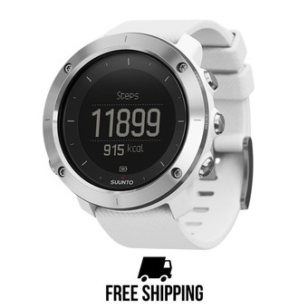 Reloj TRAVERSE GPS blanco