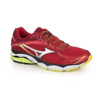 Chaussures running homme WAVE ULTIMA 7 chinese red/silver/safety yellow