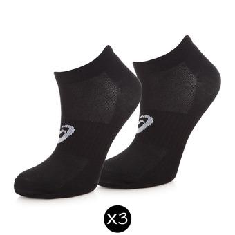 Pack de 3 pares de calcetines 3PPK PED black
