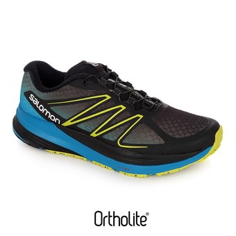 Scarpe running donna SENSE PROPULSE black/methyl blue/gecko green