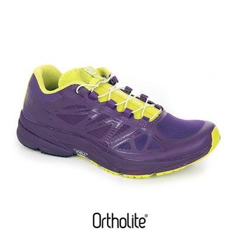 Chaussures running femme SONIC PRO cosmic purple/cosmic purple/gecko green