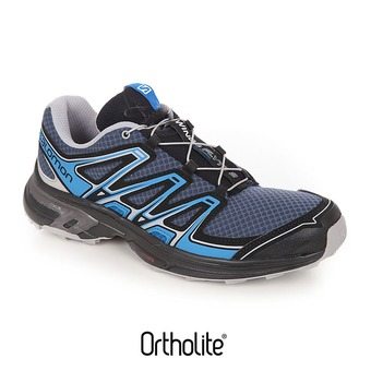 Chaussures trail homme WINGS FLYTE 2 slate blue/aluminium/union blue