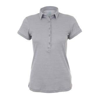 Polo MC femme ZERO RULES™ II columbia grey heather