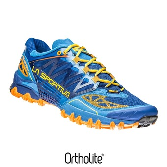 Zapatillas de trail hombre BUSHIDO blue/papaya
