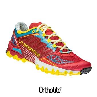 Chaussures trail femme BUSHIDO berry