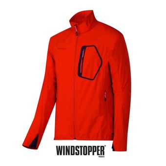 Chaqueta softshell hombre ULTIMATE dark orange