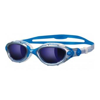 Gafas de natación PREDATOR FLEX silver/clear blue mirror